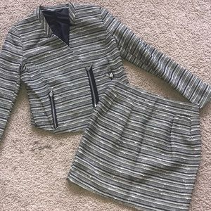 MOSSIMO dress up suit sz.2,black/gold!!RARE RARE